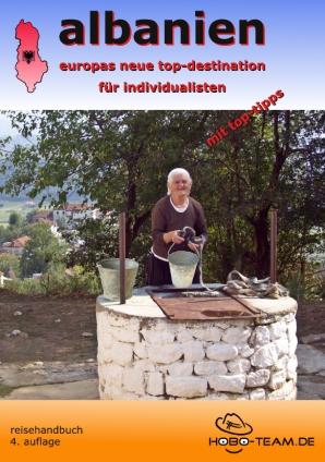 "Albanien ""pocket-guide"" Reiter am Osum-Canyon"