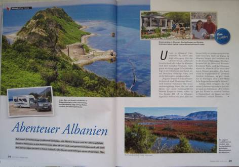 Albanien hobo-team Hobby-Magazin