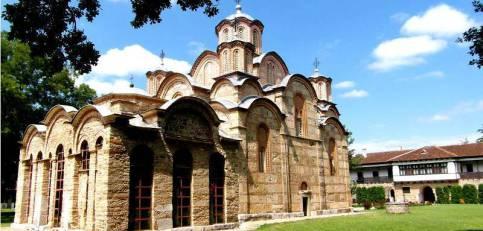 Kloster Gracanica bei Prishtina