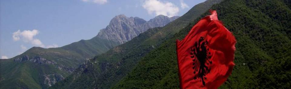 Albanien - Montenegro - Kosovo - Kosovo - Mazedonien - Nordmazedonien