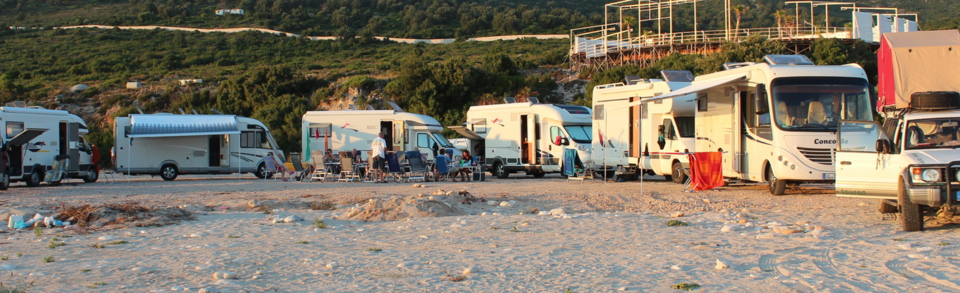 Albanien Camping Stellplätze hobo-team