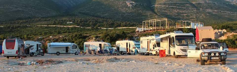 Albanien Campingführer Campingplätze Reiseführer
